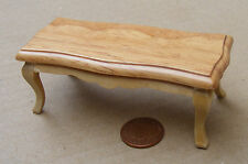 1:12 Wooden Coffee Table Table Dolls House Miniature Furniture Accessory 1526
