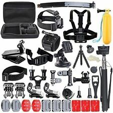 50 in 1 Sports Action Camera Accessories Kit for Gopro HD HERO 4 3+ 2 1 SjCAM