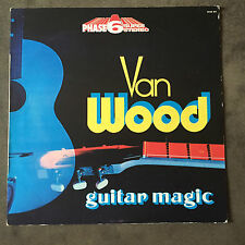 PETER VAN WOOD GUITAR MAGIC LP 1a STAMPA 1973 M- ELTON JOHN COVER