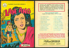 Philippine National Folklore Illustrated Komiks LAM ANG Comics