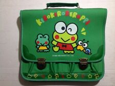 "Kerokerokeroppi Keroppi Bag Case Backpack Green Sanrio 13""x15"""