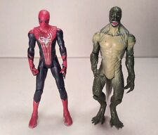 hasbro SPIDER-MAN vs. LIZARD lot of 2 AMAZING SPIDER-MAN MOVIE 2012 3.75in #1996