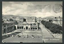 Bergamo : Il Sentierone -  cartolina viaggiata 1963