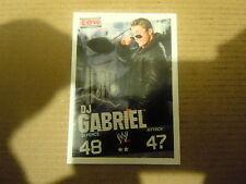 Carte - Catch  Topps Slam Attax 2009 Evolution - ECW - DJ Gabriel