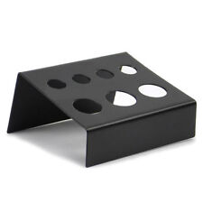 Best Supply Stainless Steel Tattoo Pigment Ink Cap Cup Holder Shelf 7 Holes