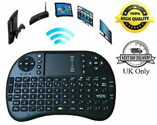 Rii I8 2.4GHz Rechargeable Mini Wireless Keyboard Fly Air Mouse with Touchpad