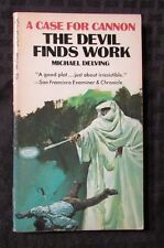 1969 THE DEVIL FINDS WORK by Michael Delving 1st Belmont Paperback FN-