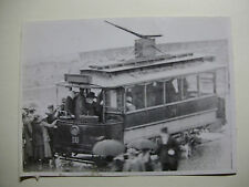 SCOT067 MUSSELBOROUGH & DIST Electric Light & Tramways TRAM No18 Photo Scotland