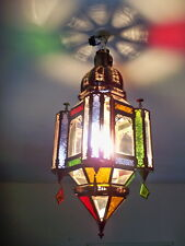55 cm Lustre Marocain fert forgé lampe lanterne plafonnier applique luminaire 1