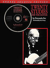 Fernando Sor Twenty Studies For Guitar Learn to Play Music Lesson Book CD