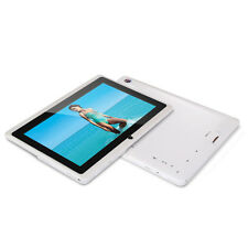 7 Inch Touchscreen Dual Core WiFi Android Tablet 512M 8GB Camera Bluetooth White