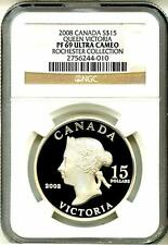 2008 S$15 Canada Vignettes Of Royalty Series Queen Victoria NGC PF69 Ultra Cameo