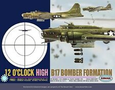 "DECALS [REPRODUCTIONS] ONLY: AURORA B-17 BOMBER FORMATION  ""12 O'CLOCK HIGH"""