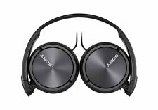 Sony MDR-ZX310 Over Ear Headphone with Mic Black+3 Months Seller Warranty