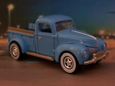 1940 40 FORD PICKUP TRUCK COLLECTIBLE DIECAST DIORAMA MODEL 1/64 SCALE