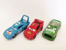 Mattel Disney Cars McQueen & Chick Hicks & the King Diecast Toy Car 1:55 Loose