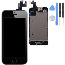 iPhone 5S Black LCD Lens Touch Screen Display Digitizer Replacement Assembly