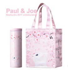 Starbucks 2017 collaboration Paul & Joe tote bag SS Troy Tumbler 473ml SET