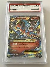 2016 Pokemon Generations Mega EX Charizard Holo Foil #12 PSA 10 GEM MINT