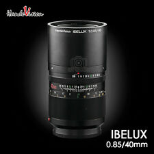 The First publish HandeVision IBELUX 40mm F/0.85 to FUJIFILM X-Pro1 X-T1 X-E2