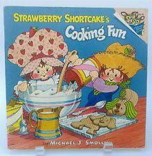 Vtg. 1980 Strawberry Shortcake COOKING FUN children's book EASY KID'S RECIPES!