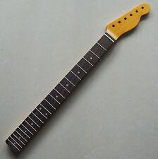 Vintage Canadian Maple/Rosewoood Fender TELE Guitar Necks 21 Frets Nitro Finish