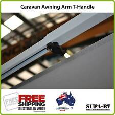 Caravan Awning Arm Brace Knob or T-Handle Knobs suit Dometic & Carefree Awnings