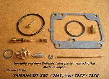 Yamaha DT 250_1M1_1977 - 1978_Vergaser_-_Reparatur_-_Satz_carburator repair kit