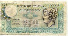 ITALIE ITALY ITALIA 500 L 1974 état voir scan 555