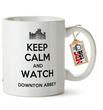 Keep Calm and Watch Downton Abbey - Funny Mug Cup