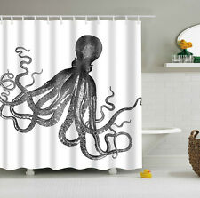 Custom Shower Curtain Octopus Kraken Design Bathroom Waterproof Fabric 60 x72""