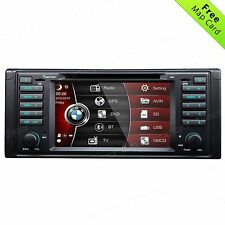 "7""Car DVD Player for BMW E39 GPS Navigation BT Radio HeadUnit SD/USB Touch C+Map"