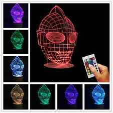 Embodiment of Justice ! 3D USB Ultraman Lamp LED Color Changing Desk Night Light