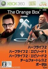Used Xbox 360 HalfLife 2 The Orange Box MICROSOFT JAPAN JAPANESE JAPONAIS IMPORT