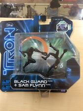 TRON LEGACY - FIGURE SET - BLACK GUARD & SAM FLYNN