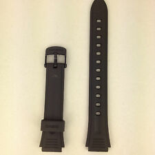Casio Genuine Replacement Strap LW-201-1AVW & LW201 1AVW Black Rubber Band
