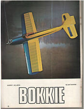 RC Plans ** BOKKIE RC .19           Model Plane/ Airplane Plans