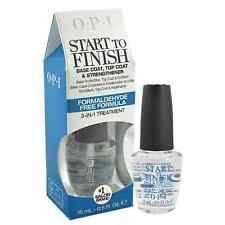 Opi Start To Finish Base Coat Top Coat Nail Strengthener T71 Formaldehyde-Free