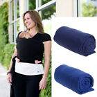 Adjustable Infant Newborn Baby Carrier Sling Wrap Rider Backpack Pouch Ring New
