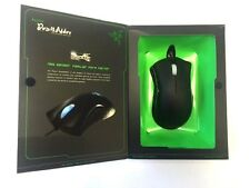 New Razer DeathAdder 3500DPI Gaming Mouse Blue Light Right Hand Cool Design