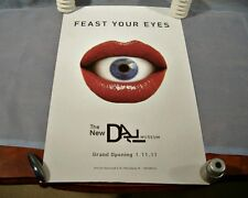 Salvador Dali Museum Poster Grand Opening St. Petersburg FL Feast Your Eyes
