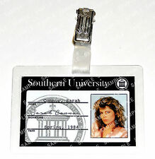 Terminator Sarah Connor ID Badge Cyberdine Cosplay Prop Costume Gift Christmas