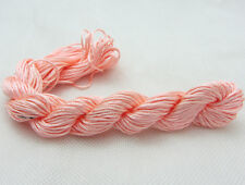 New 28M/roll(1mm)Chinese Knotting Nylon Thread Cord Wire Beading Bracelet  X24