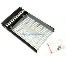 "3.5"" LFF SAS Drive Tray Caddy + 4 Screw for HP 373211-002 ML350 G6 DL160 G5 US"