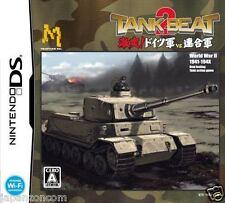 Used DS Tank Beat 2 NINTENDO JAPANESE IMPORT