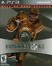PlayStation 3 Madden NFL 12 Hall of Fame Edition VideoGames