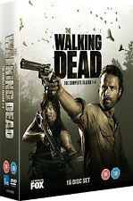 The WALKING DEAD COMPLETE SEASON 1,2,3,4  BOXSET 16 DISCS R2 1-4 NEW & SEALED