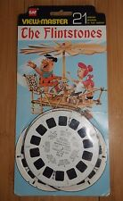 VINTAGE THE FLINTSTONES 1964 VIEWMASTER REELS GAF B520 RARE CARDED