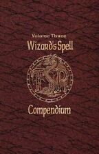 Wizard's Spell Compendium Vol. 3 by TSR Inc. Staff and Jon Pickens