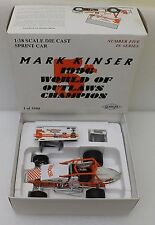 GMP 1:18 SCALE DIE-CAST WIRTGEN SPRINT CAR MARK KINSER w/BOX LIMITED EDITION.